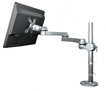 MRFS01 Single Pole Mounted Monitor Arm