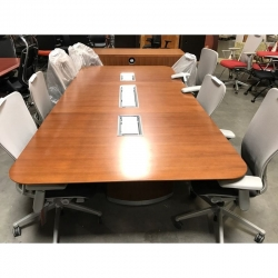 Frosted Glass Conference Table - Frosted glass conference room table