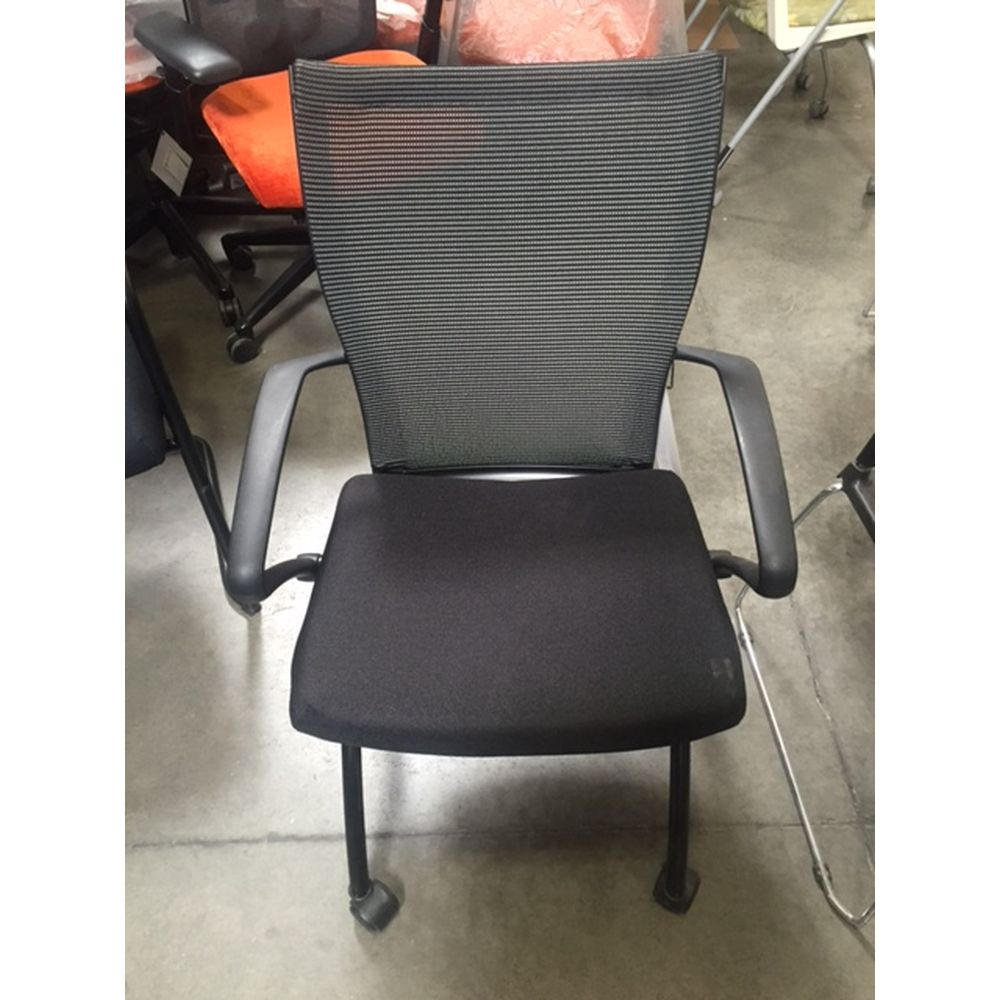 Haworth X99 nesting chair with wheels