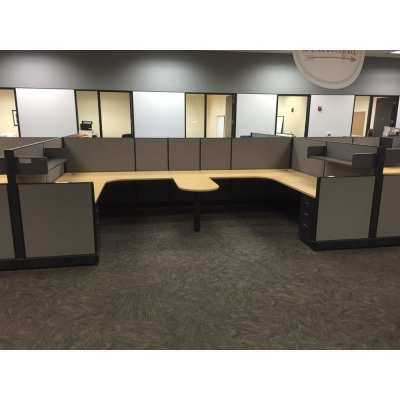 Herman Miller used workstations