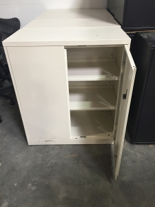 Steelcase 42 high storage cabinet