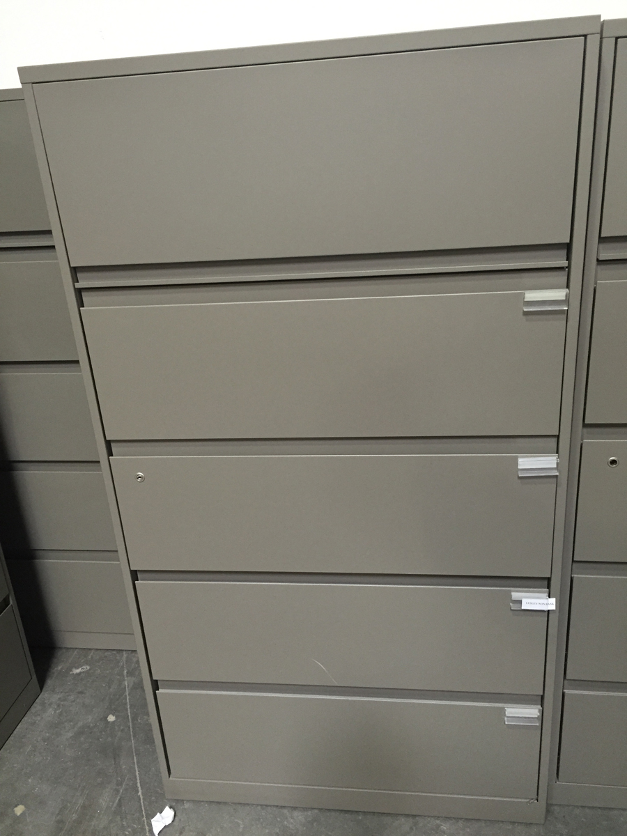 Steelcase 5 drawer lateral file